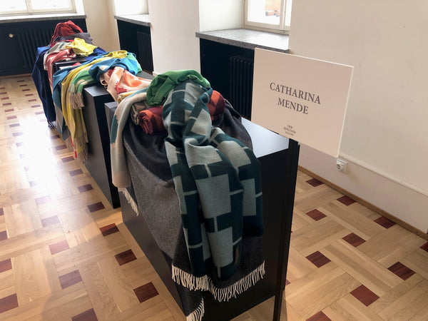 Blog Der Berliner Salon zur Fashion Week 2018 Interior Wolldecken