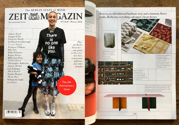 Zeit Magazin International Issue Winter 2018 und 50 Berlin Favorites