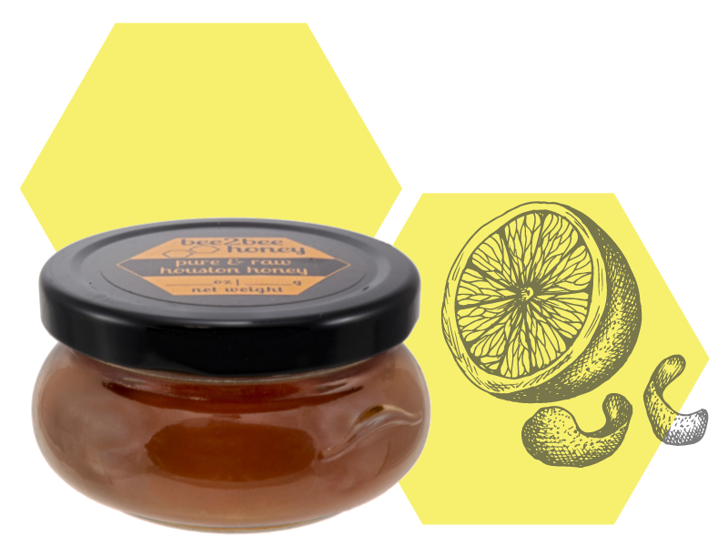Meyer Lemon-Infused Honey