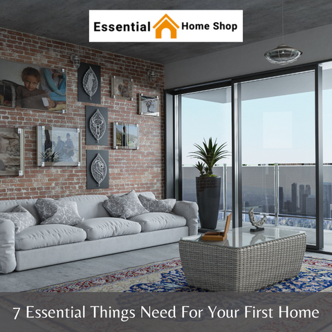 7 Essential Things Need For Your First Home
