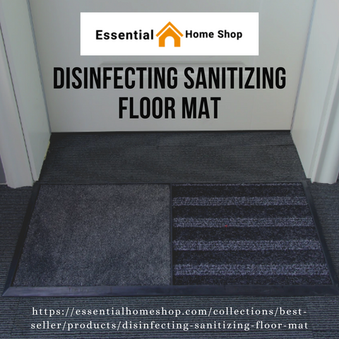 Choosing Felicitous Disinfectant Mat for Cleaning Shoes