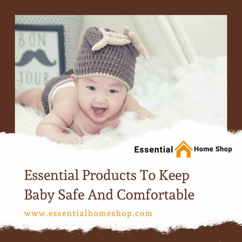 Essential Products To Keep Baby Safe