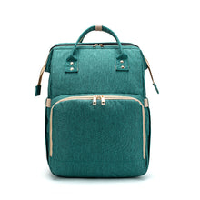 Load image into Gallery viewer, Portable Baby Diaper Bag in Green