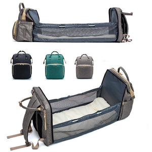 Covertible Baby Diaper Bag