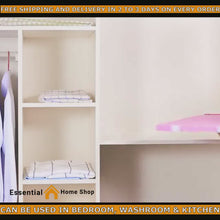 Load and play video in Gallery viewer, Adjustable Closet Organizer Storage Shelf