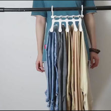 Load and play video in Gallery viewer, Trouser/Scarf multipurpose Hanger