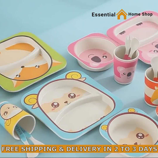 High Quality Bamboo Kids Tableware Online
