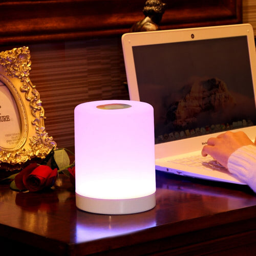 USB Smart bedside LED Lamp