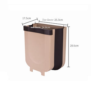 Cabinet movable Trash can Size