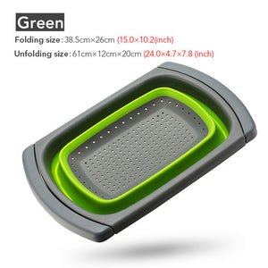 Multipurpose Collapsible Kitchen Strainer Basket