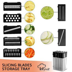Slicing Blades Storage Tray