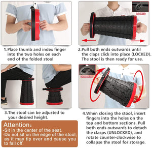 Multipurpose Folding Stool