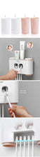 Load image into Gallery viewer, Wall-mounted  Tooth Brush Holder and Dispenser
