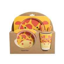 Load image into Gallery viewer, Buy Kids Tableware Set - Yellow