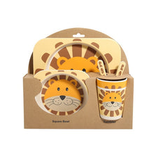 Load image into Gallery viewer, Buy Kids Tableware Set - Brown