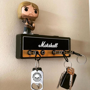 Marshall Guitar Keychain Holder