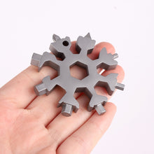 Load image into Gallery viewer, 18-in-1 Multi-purpose Stainless Steel Snowflake Gadget tool