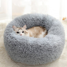Load image into Gallery viewer, Pet Fluffy Round Bed Washable
