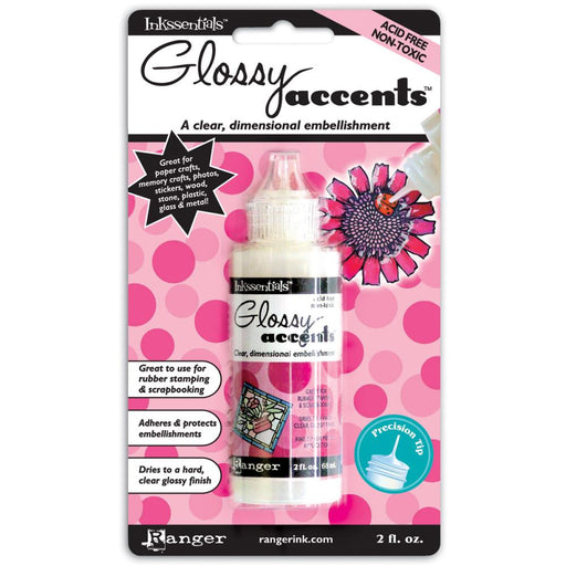 Ranger Inkssentials Glossy Accents 2oz - 59ml