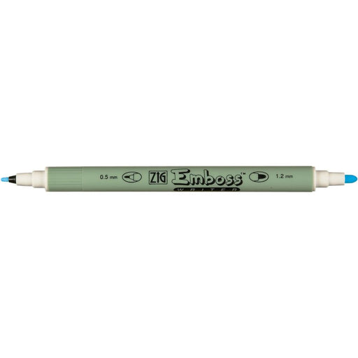 ZIG Emboss Writer Twin Tip Marker Clear