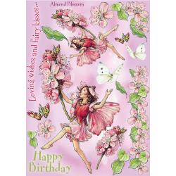 Crafters Companion Flower FairiesLarge Almond Blossom