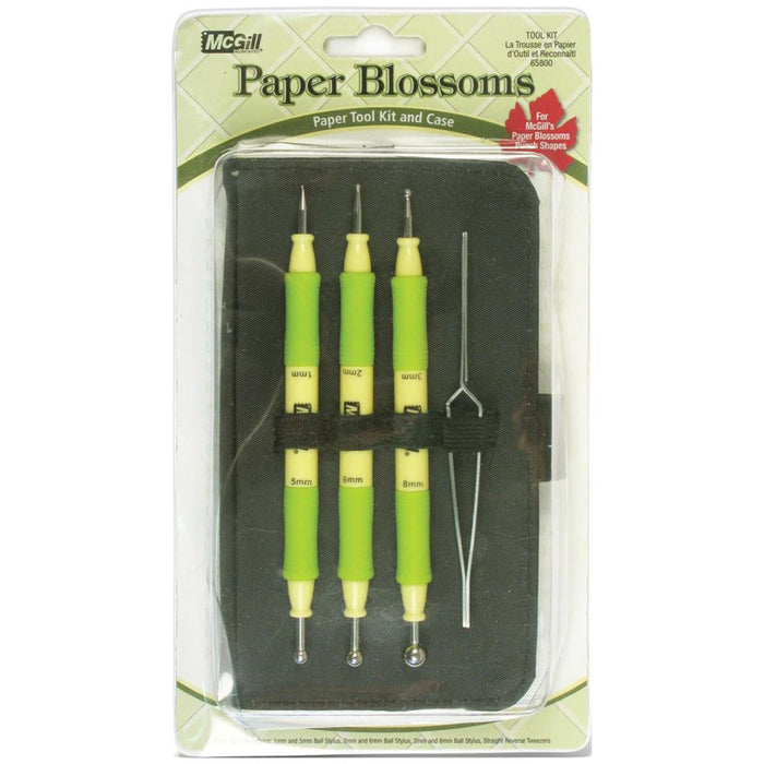 McGill Paper Blossum Tool kit and Case