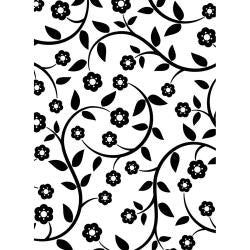 "Embossing Folder 4.25""X5.75"" Flowers & Vine"