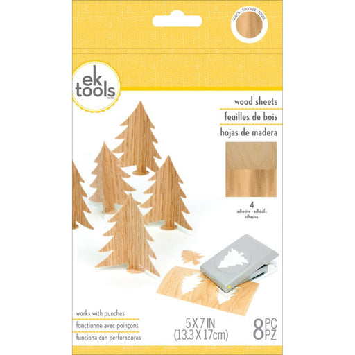 EK Success Wood Sheets 8/Pkg