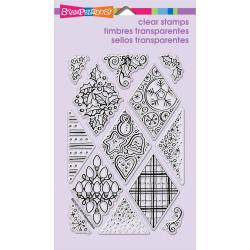 Stampendous  Yule Diamonds