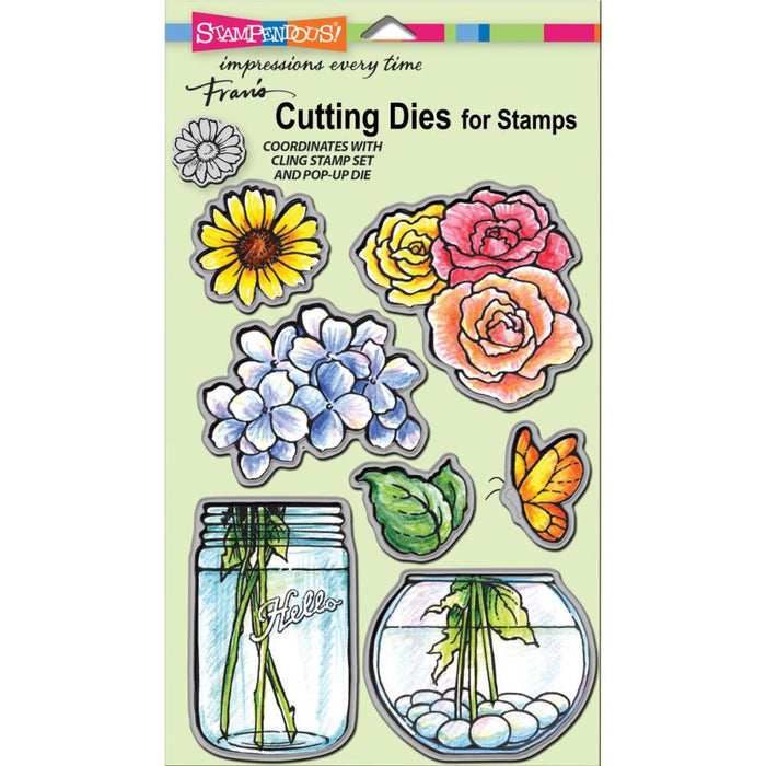Stampendous DCS5074 Build A Bouquet Die Cut Set