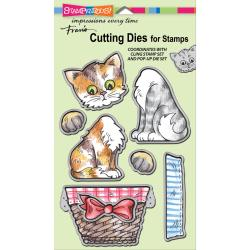 Stampendous Pop Up Kitties Die Cut Set