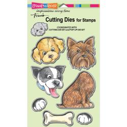 Stampendous Pop Up Puppies Die Cut Set DCS5076
