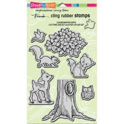 Stampendous Cling Pop Up Forest