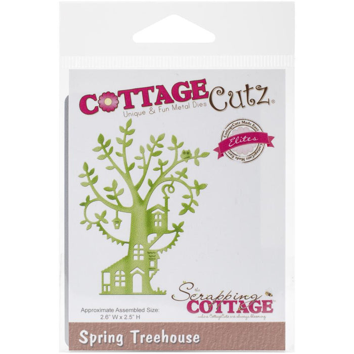 Cottage Cutz Die  CCE-227 Spring Treehouse