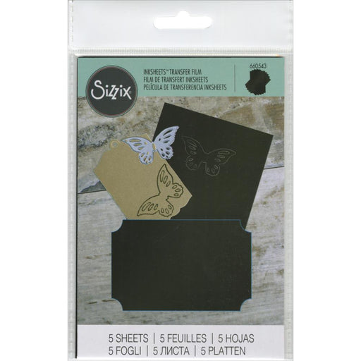 Sizzix Inksheets Transfer Film 660543 Black