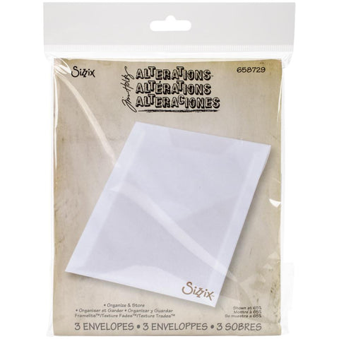 Sizzix Tim Holtz 3 Envelops 658729