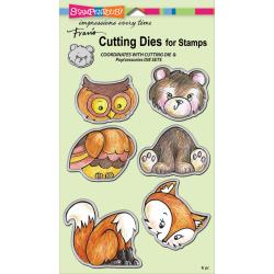 Stampendous Cutting Die DCS5087. Woodland Friends