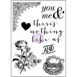 "Tales Of You & Me Clear Stamps 3""X4"" There's Nothing Like Us"