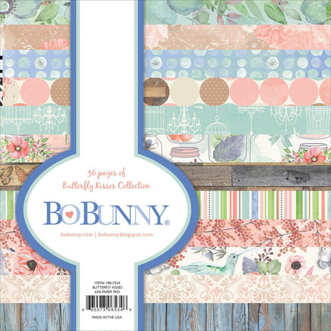 "BoBunny Butterfly Collection  6""x6"" Paper pad"