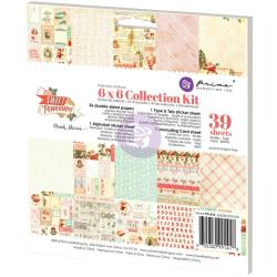 "Prima Marketing Collection Kit 6""X6"" Sweet Peppermint"