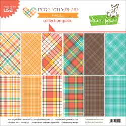 Perfectly Plaid Fall Collection Pack - Lawn Fawn