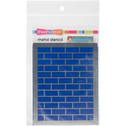 "Dreamweaver Metal Stencil 7""X4"" Bricks"