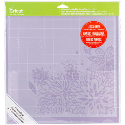 "Cricut Cutting Mat 12""X12"" StrongGrip"