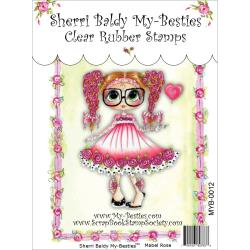 "My Besties Clear Stamps 4""X 6"" Mabel Rose - MYB-0012"