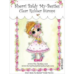 "My Besties Clear Stamps 4""X 6"" Sweet Marlylou -MYB-0020"