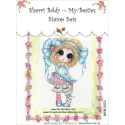 "My Besties Clear Stamps 4""X 6"" Messy Bessy Frilly Lilly - MYB-0023"