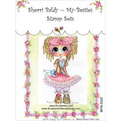 "My Besties Clear Stamps 4""X 6"" Miss Firzzy Lizzy - MYB-0026"
