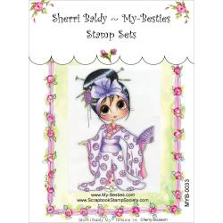 "My Besties Clear Stamps 4""X 6"" Cherry Blossom - MYB-0033"