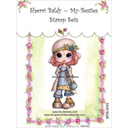 "My Besties Clear Stamps 4""X 6"" Mily Mae - MYB-0038"