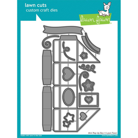 Lawn Cuts Custom Craft Die - Mini Pop-Up Box